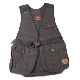 Dummyvest Hunter - Waxed cotton bruin