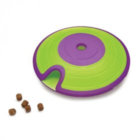 Nina ottosson dog treat maze paars / lime (18X18X6 CM)