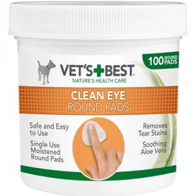 Vets best clean eye round pads (100 ST)
