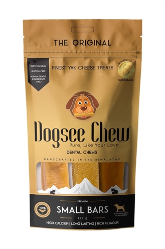 Dogsee chew small bars (100 GR)