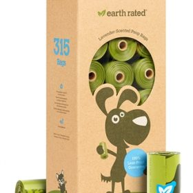 Earth rated poepzakjes geurloos (21X15 ST)