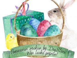 Paasactie bij DogStore - kom paaseieren zoeken & win prijzen!