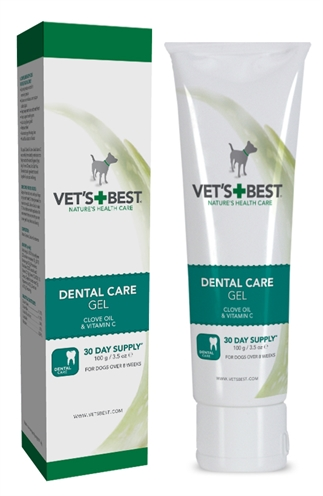 Vets best dental gel hond (100 GR)