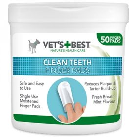 Vets best clean teeth finger pads (50 ST)
