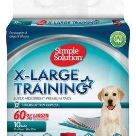 Simple solution puppy training pads (XL 10 ST)