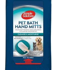 Simple solution bathing mitts (7 ST)