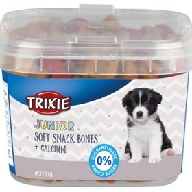 Trixie junior soft snack bones met calcium (140 GR)